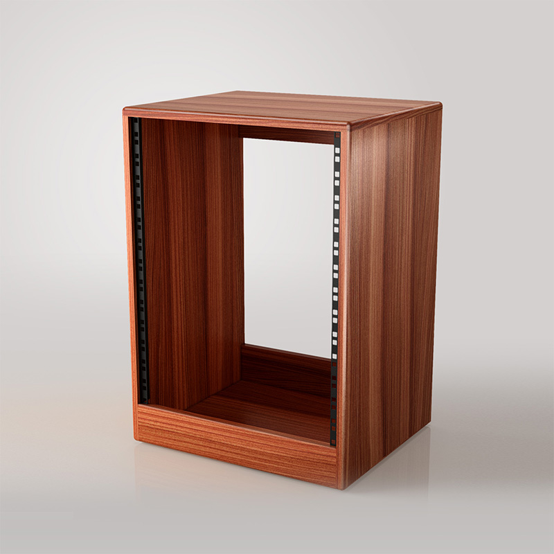 Straight Faced Rack in Sapele