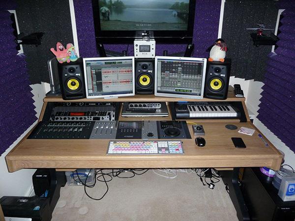 avid artist series console desk