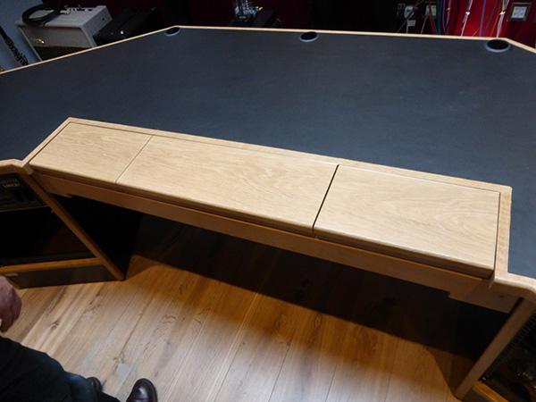 Composers Studio Desk Keyboard Built in 2