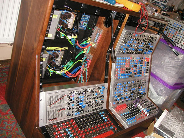 Custom built racks for Modular Synthesisers