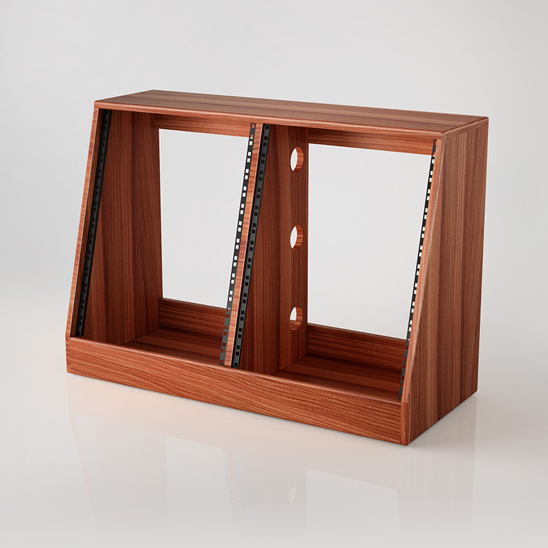 Double Bay Rack Sapele