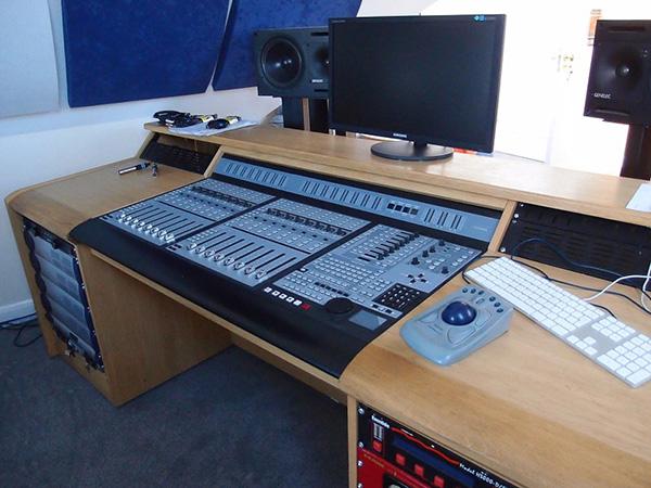 Composers studio desk DigiDesign Pro Command