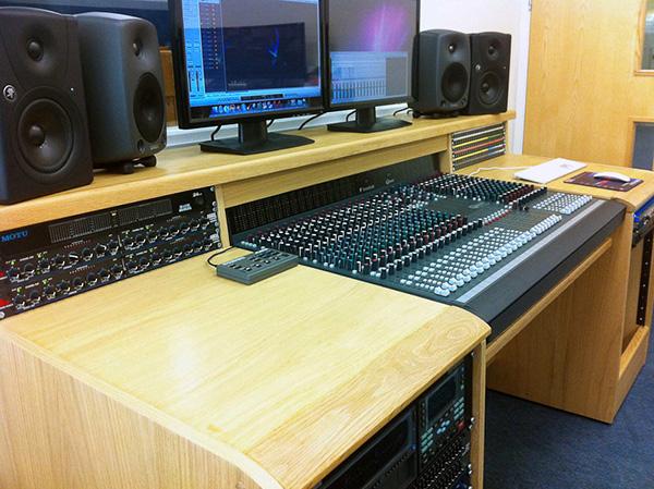 recording studio desk soundcraft ghost