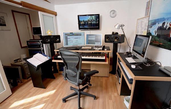 Recording Studio Furniture Composers Studio