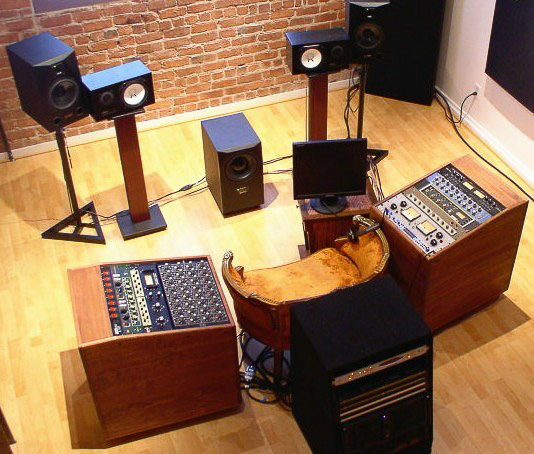 Studio Racks trolley racks recording studio equipment