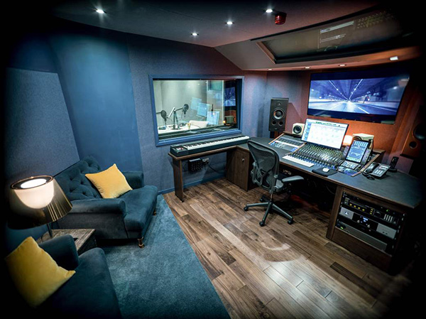 Avid S6 furniture at Post Production Studio