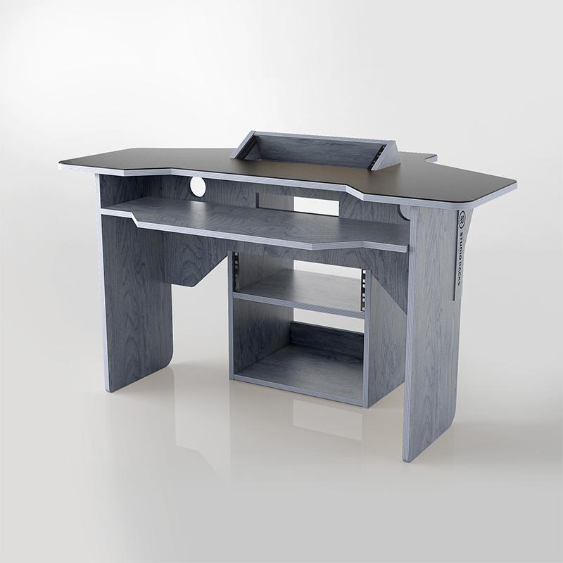 StudioRacks 001 desk in grey/blue